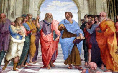 Les sources philosophiques de saint Thomas, la participation et la création