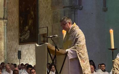Prédication du frère Emmanuel Perrier pour la fête de saint Thomas d'Aquin
