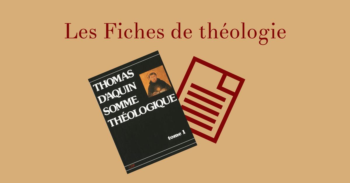 Les Fiches de théologie